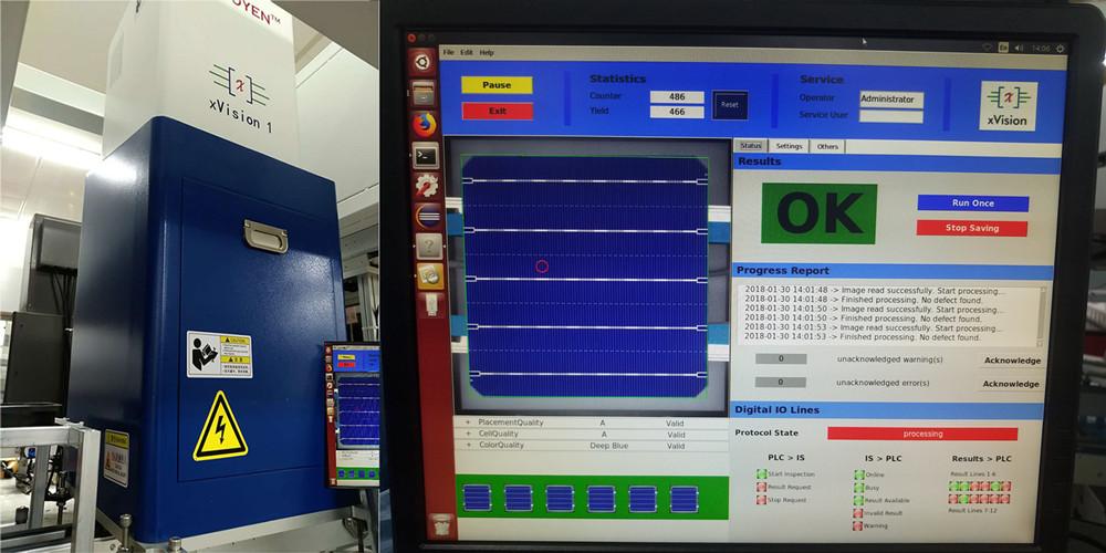 太阳能电池片丝印在线监测 BDOBI